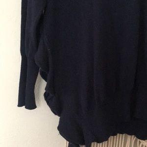 Anthropologie Tops - Anthropologie Moth ruffle side cardigan tunic
